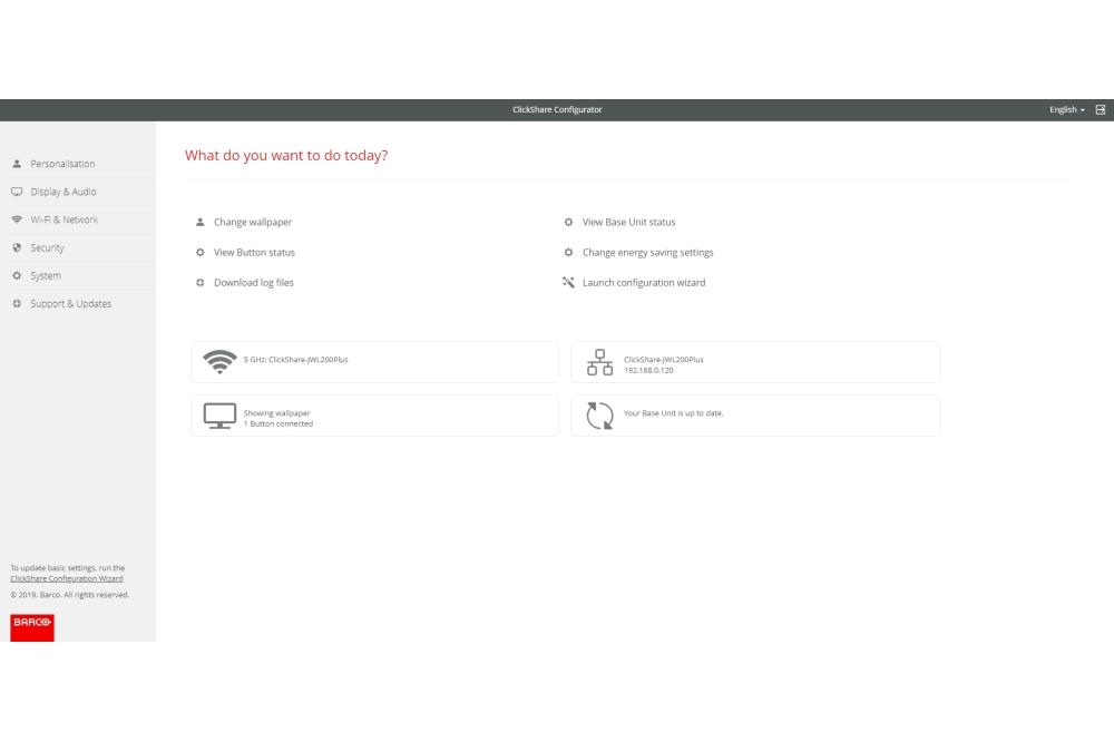 Barco ClickShare Configurator