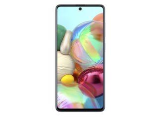Samsung Galaxy A71 Blue voorkant