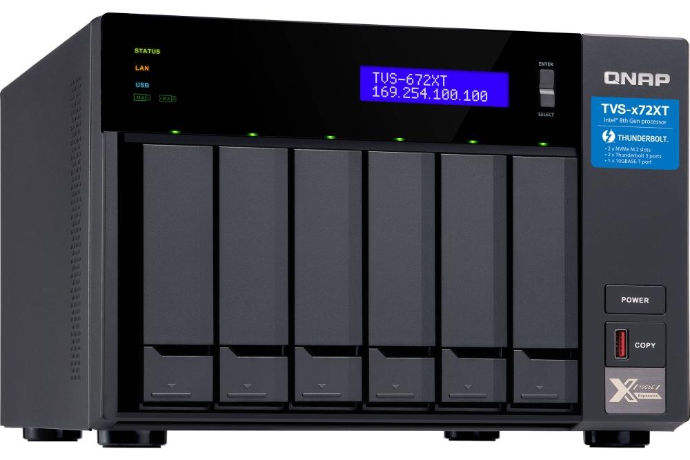 QNAP TVS-x72 XT NAS