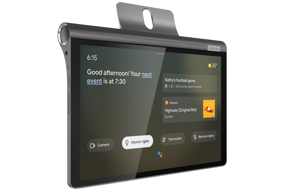 Lenovo Yoga Smart Tab met Google Assistent