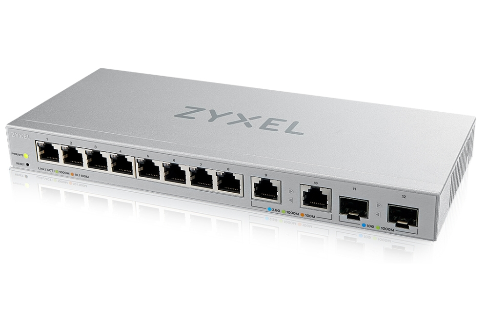 Zyxel xgs1210-12 multigigabit switch