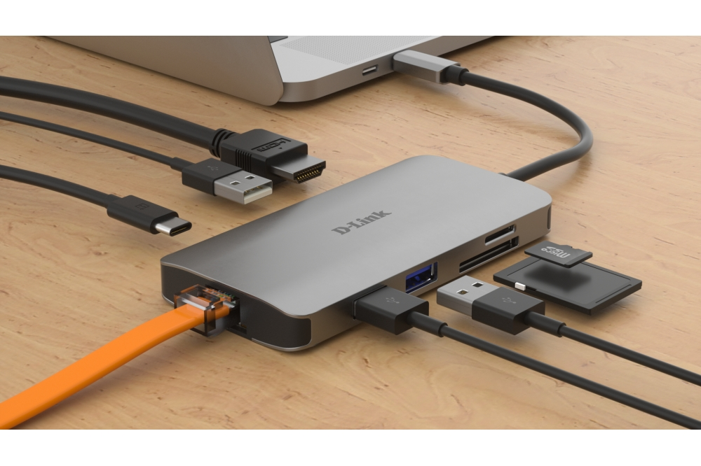 D-Link DUB-M810 USB-C hub