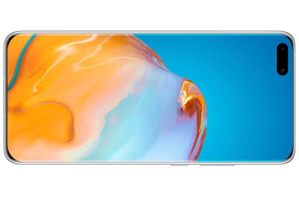 Huawei P40 Pro in de kleur Silver Frost