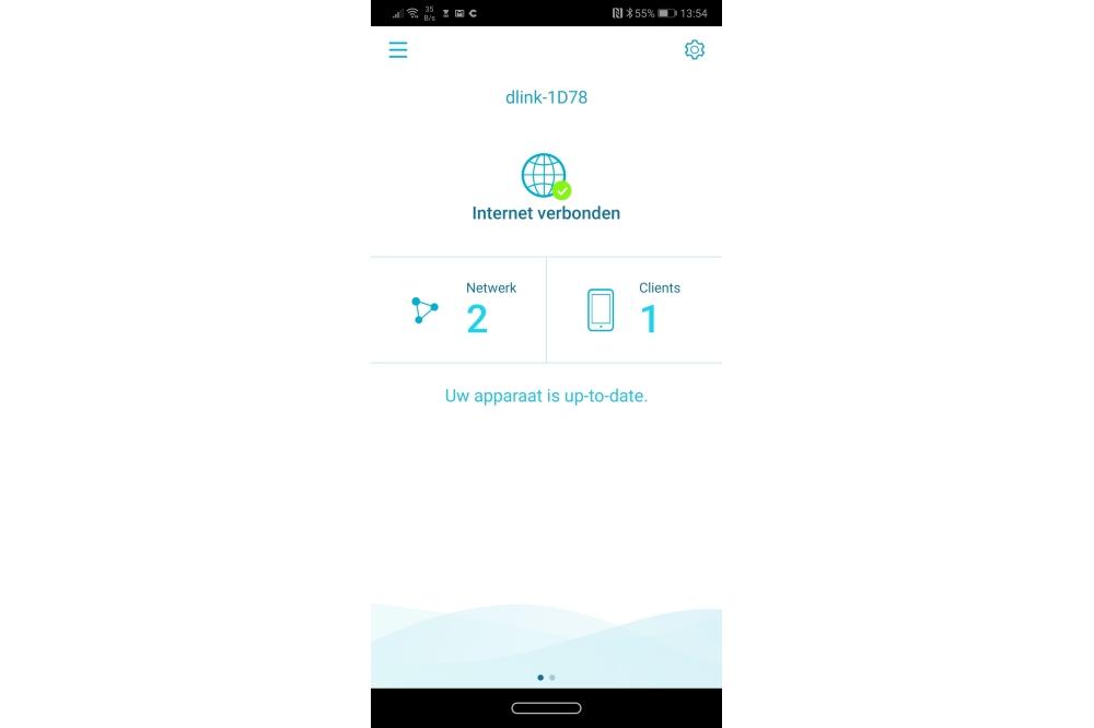 D-Link Covr-1102 in Wifi app