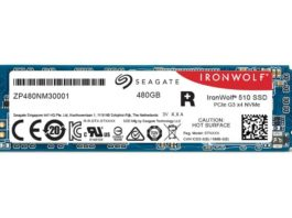 Seagate Ironwolf 510 SSD 480 GB