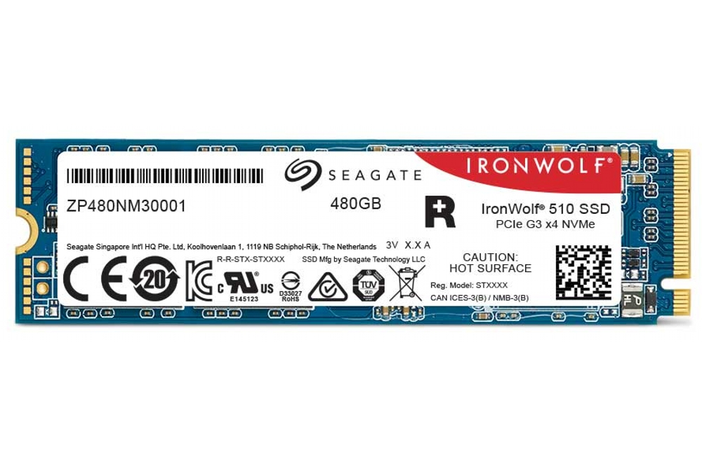 Seagate Ironwolf 510 SSD 480 GB