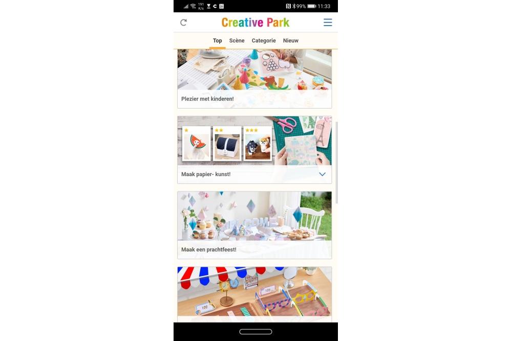 Canon Creative Park app
