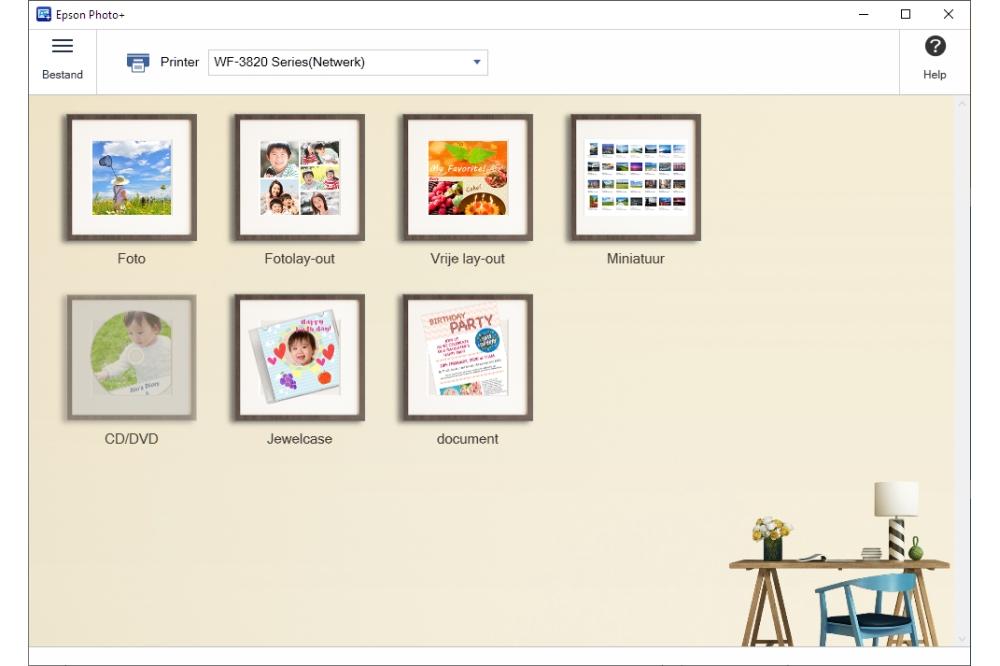 Epson Photo+ Windows-app