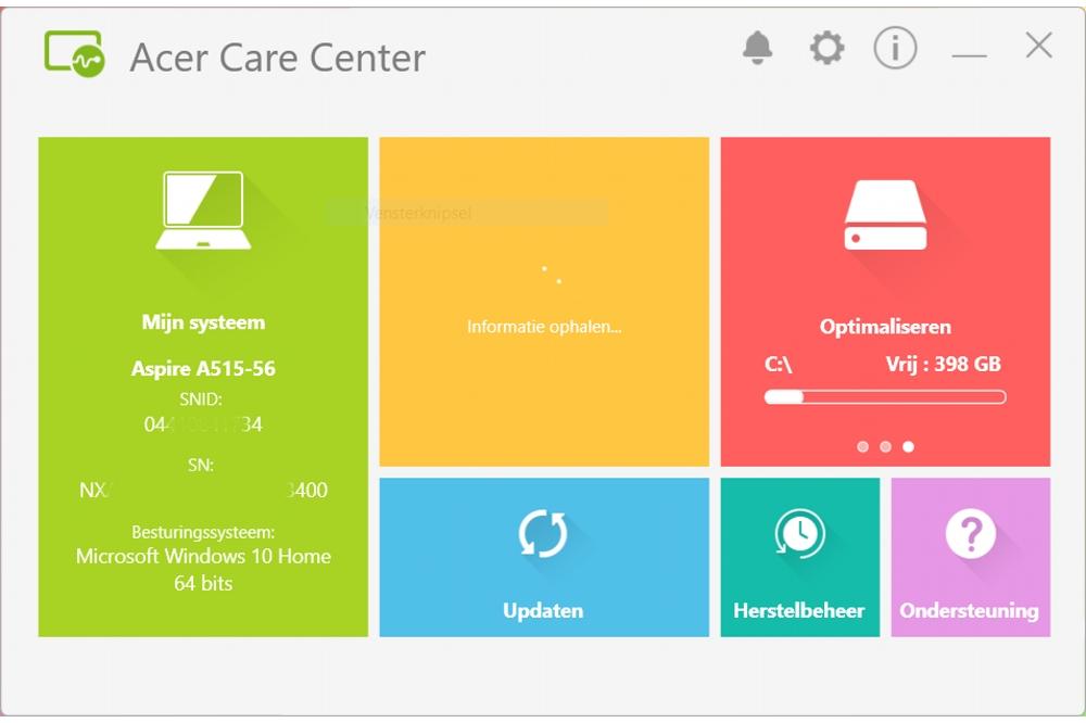 Acer Carecenter