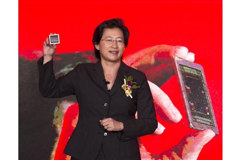 AMD-topvrouw Lisa Su op een evenement in juni 2015.