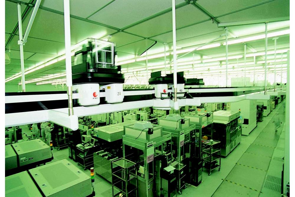 AMD besteedt de productie van zijn chips uit aan het Taiwanese TSMC, met hier een binnenzicht op zijn Fab 3.