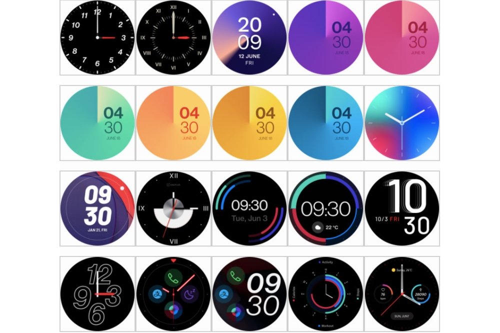 OnePlus Watch watch faces